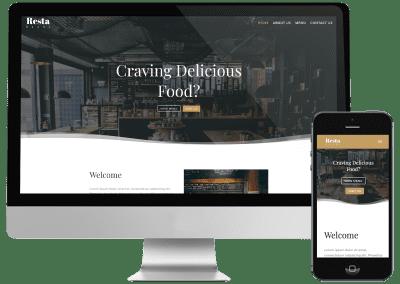 Restaurant Demo Site